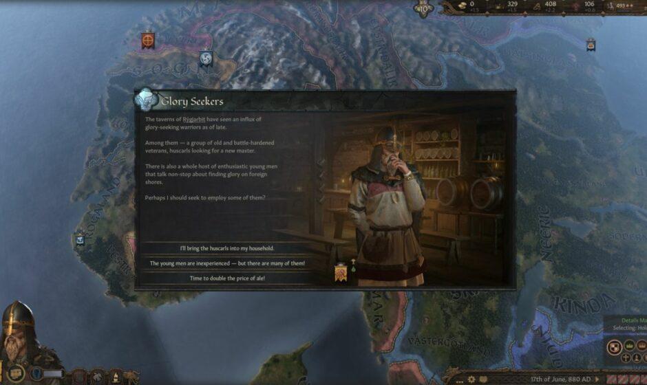 Crusader Kings III: primo contenuto disponibile