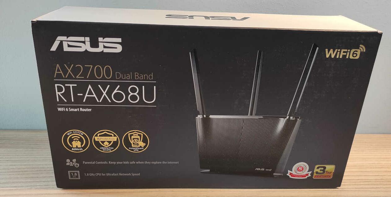 Router ASUS RT-AX68U – Recensione