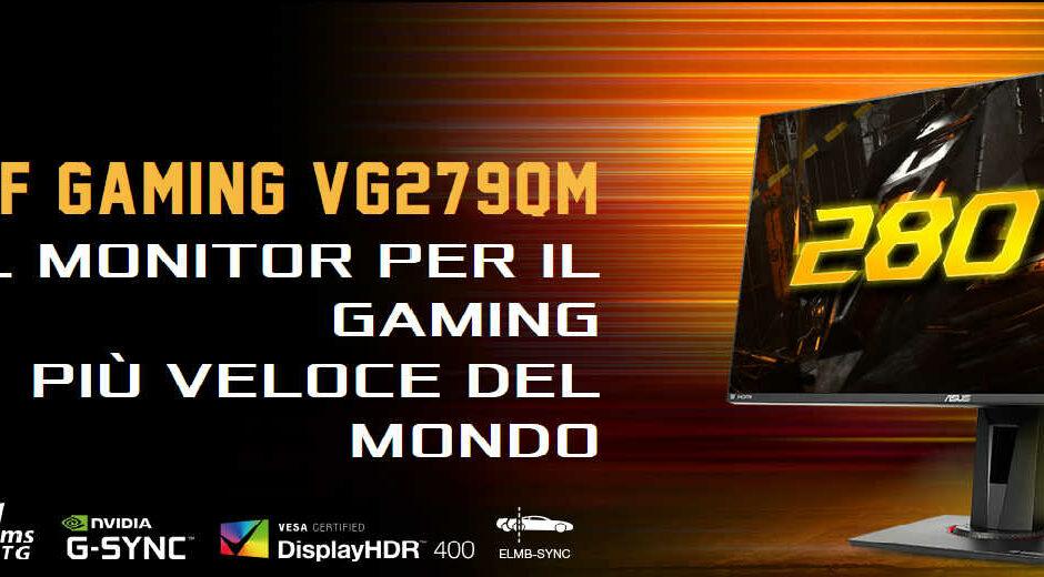 ASUS TUF Gaming VG279QM - Recensione