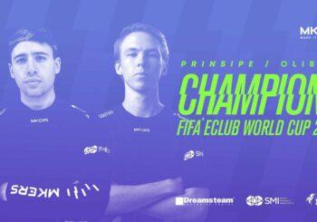 Gli italiani Mkers campioni del mondo di Fifa 2021