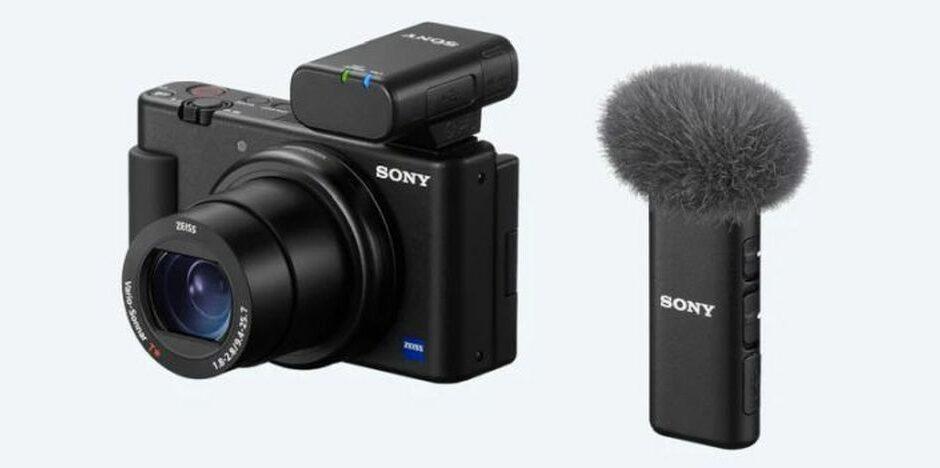 Sony: annunciati i microfoni ECM-W2BT e ECM-LV1