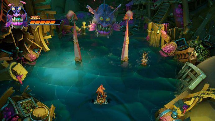 Crash Bandicoot 4 bossfight