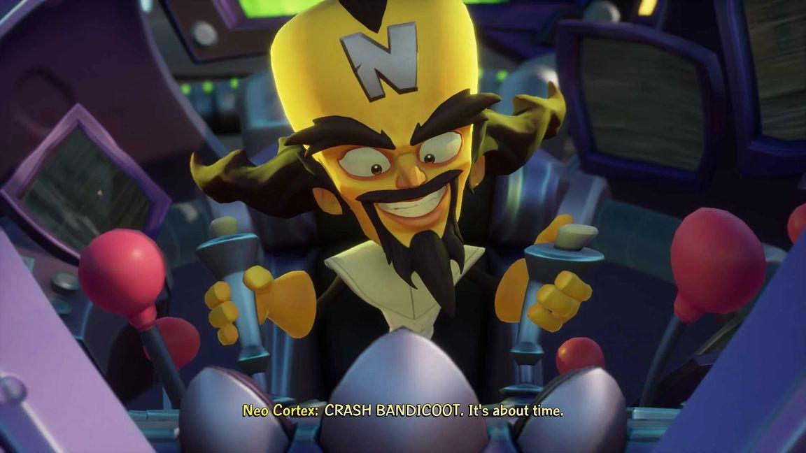 Crash Bandicoot 4 guida boss fight