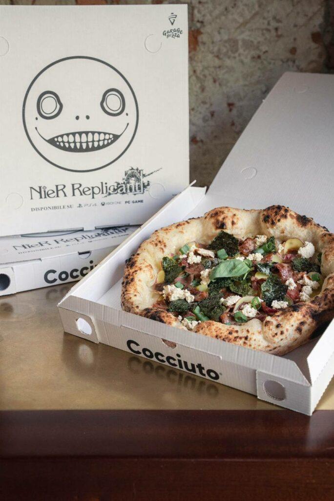 NieR Replicant pizza