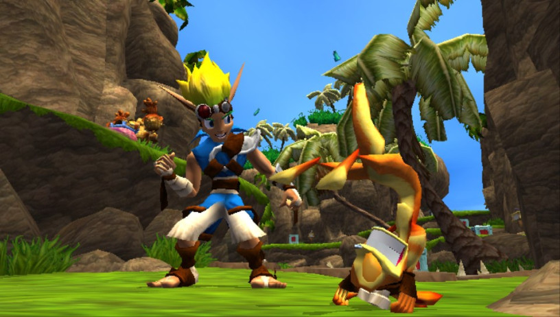Naughty Dog Jak and Daxter