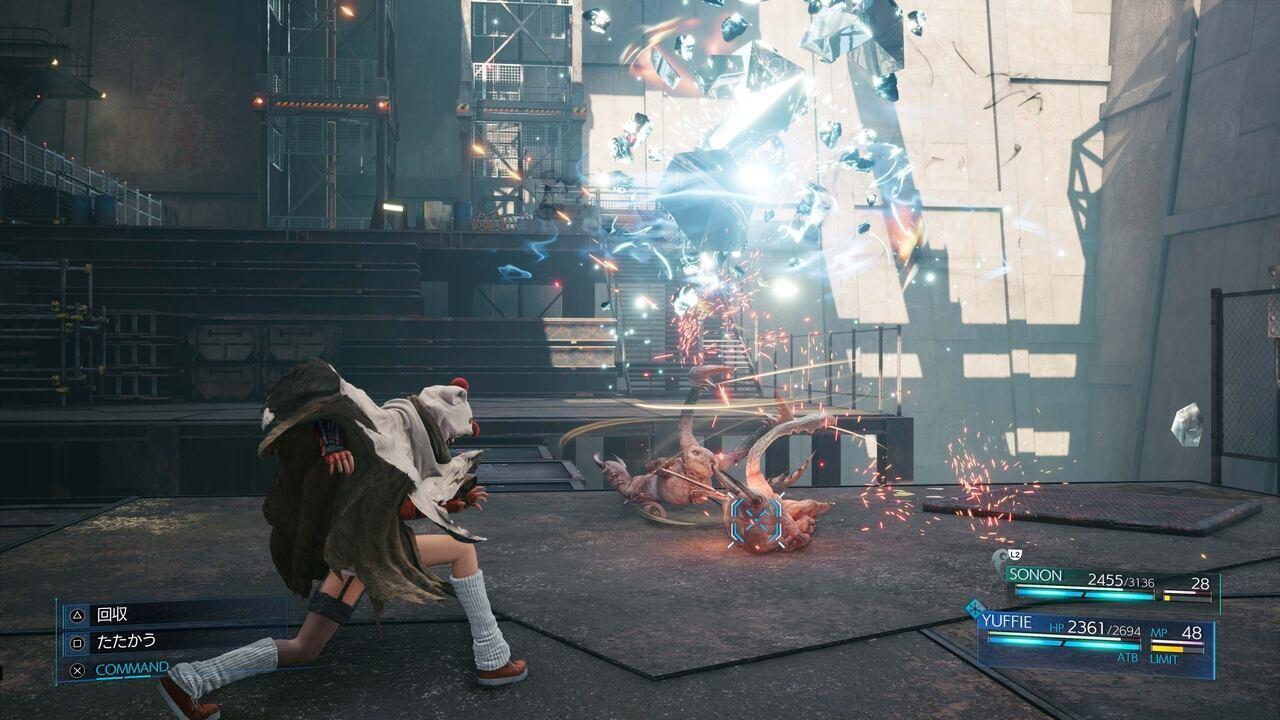 FF7R EPISODE INTERmission Yuffie Ninjutsu elementale