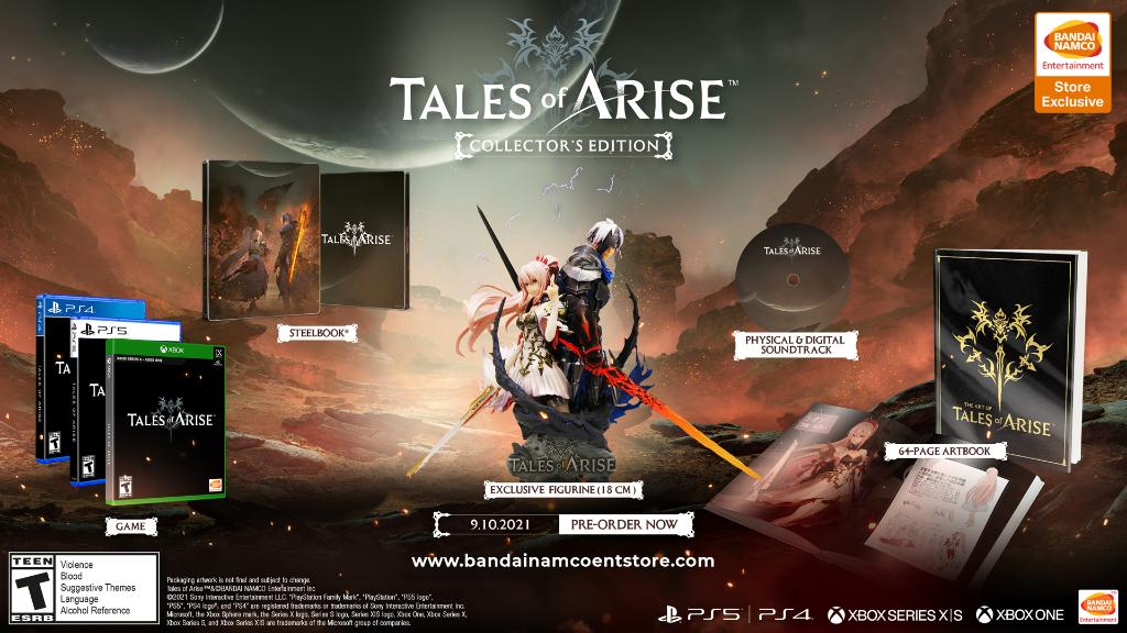 Tales of Arise Special Edition