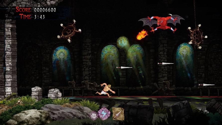 Ghosts n Goblins Recensione PS4