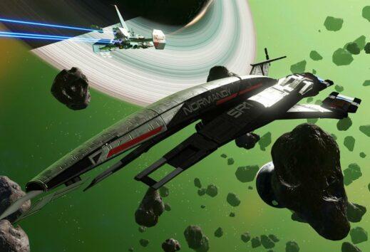 La Normandy di Mass Effect approda su No Man's Sky