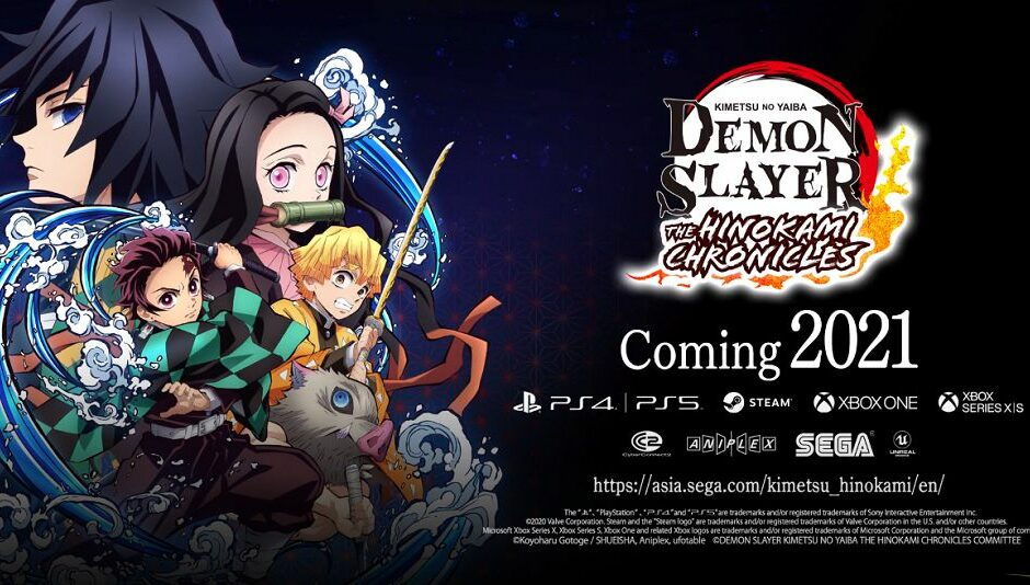 Demon Slayer The Hinokami Chronicles arriva in inglese nel 2021