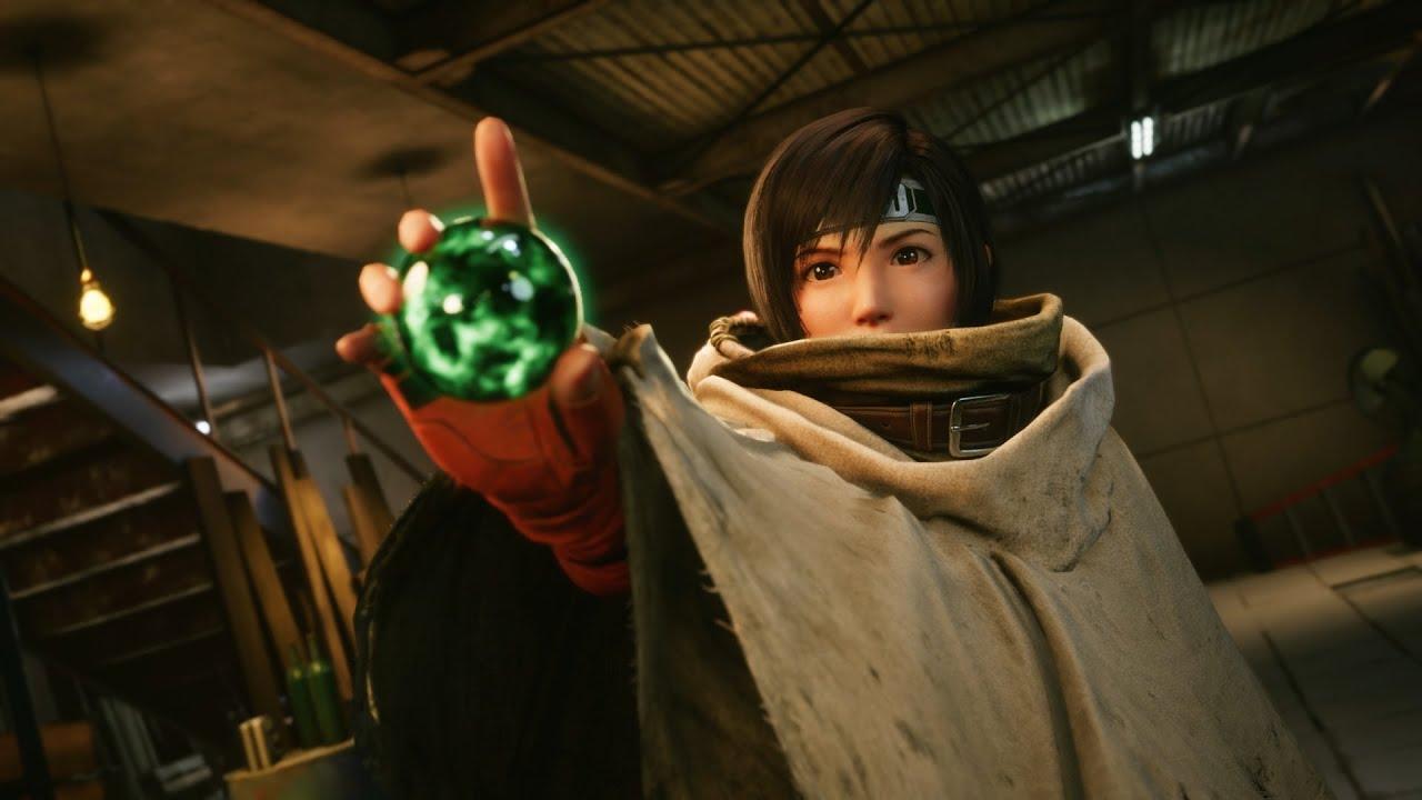 Final Fantasy VII Remake Intermission manifesti
