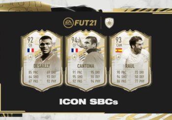 FIFA 21, disponibili nuove Icon tramite SBC!