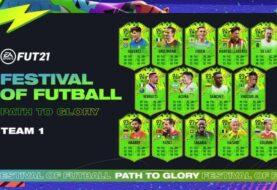 FIFA 21, il primo team dell'evento Festival of Futbal