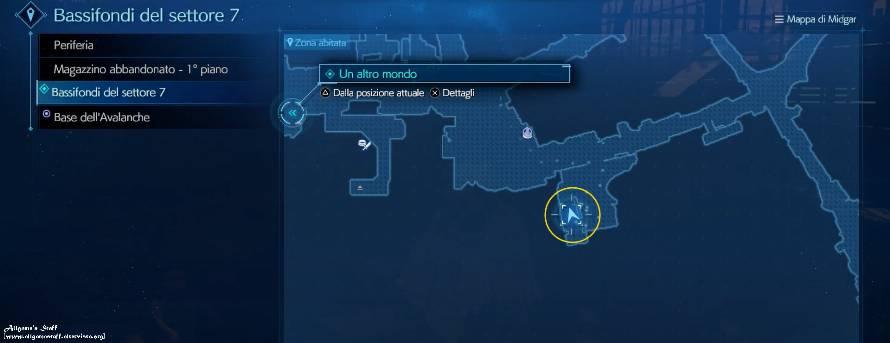 Final Fantasy VII Intermission manifesti