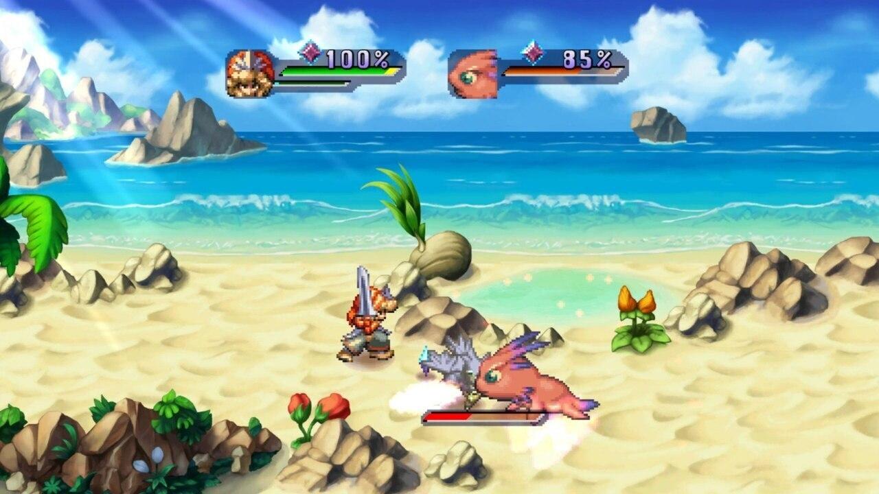 Legend of Mana Remaster battle