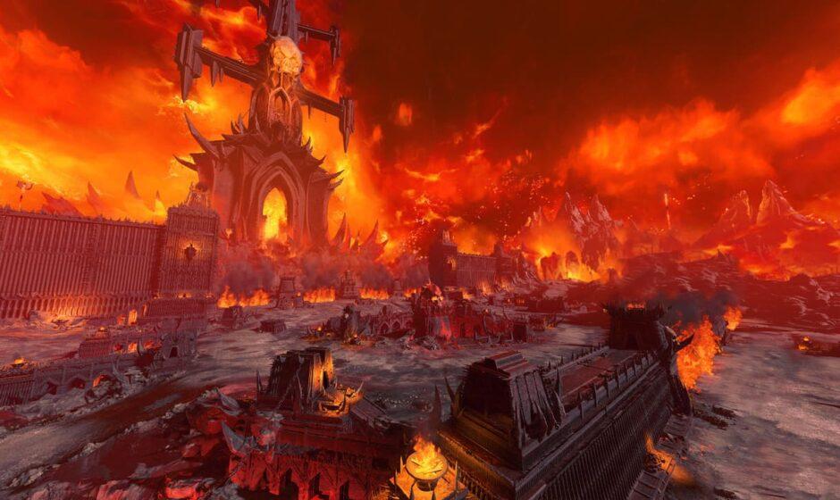Total War: Warhammer III: trailer su Khorne