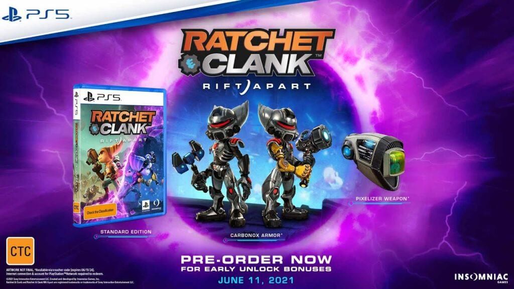 Pixelizer ratchet and clank rift apart