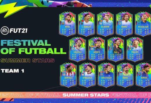 FIFA 21, svelato il Team 1 dei Summer Stars!