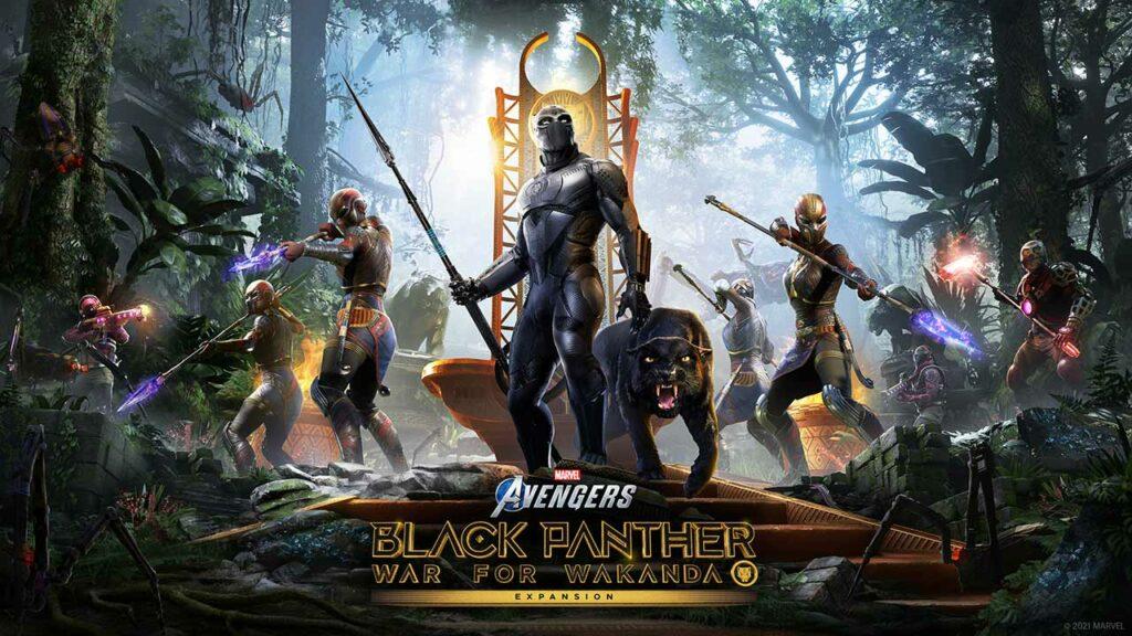 Marvel's Avengers Black Panther Guerra per il Wakanda DLC