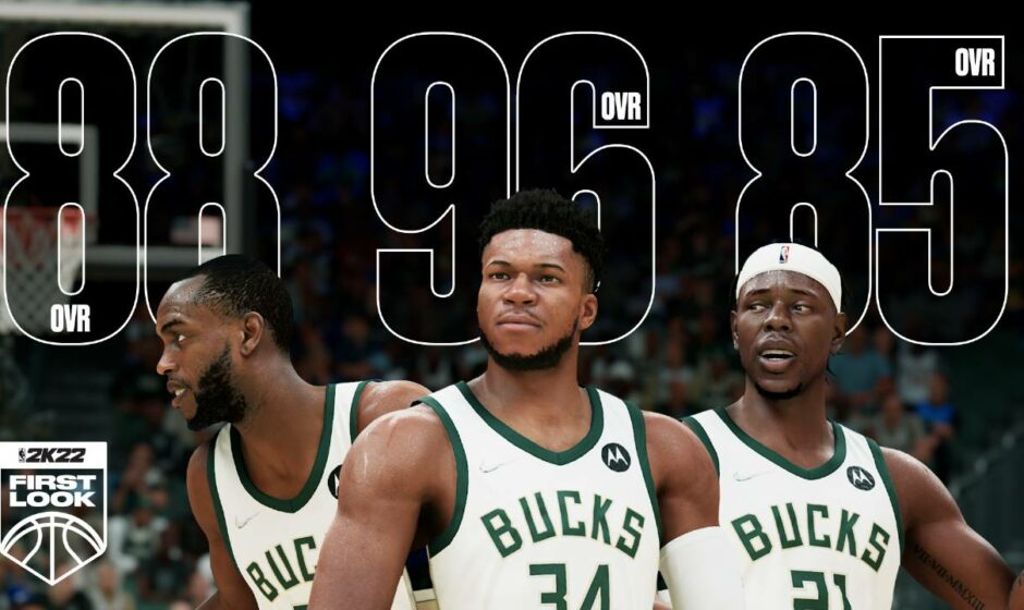 NBA 2K22: nuove immagini e rating di alcuni atleti