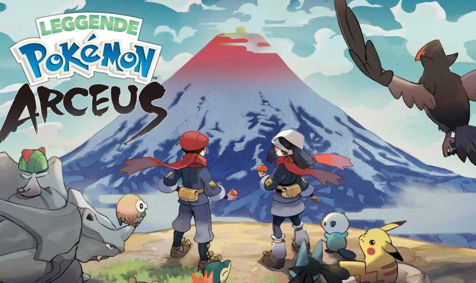 Leggende Pokémon Arceus: nuove info