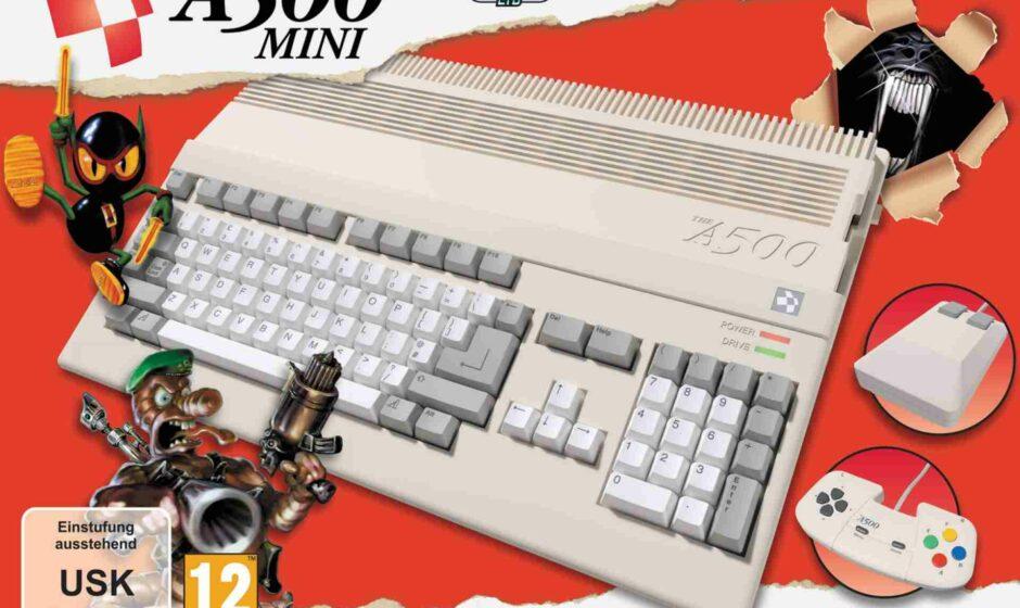 THEA500 Mini: Amiga 500 è pronto a tornare
