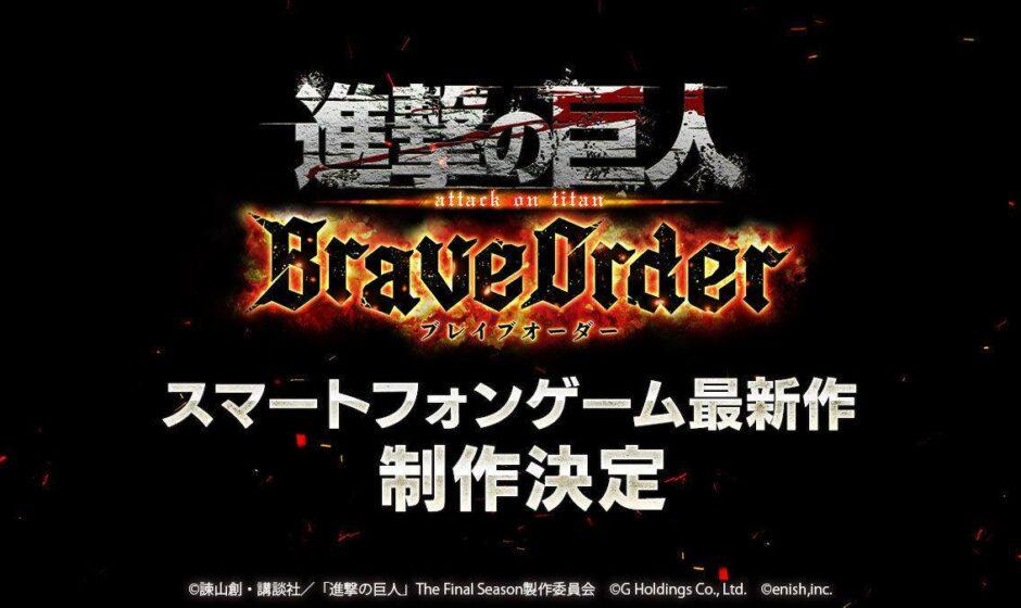 Attack on Titan: Brave Order annunciato per iOS e Android