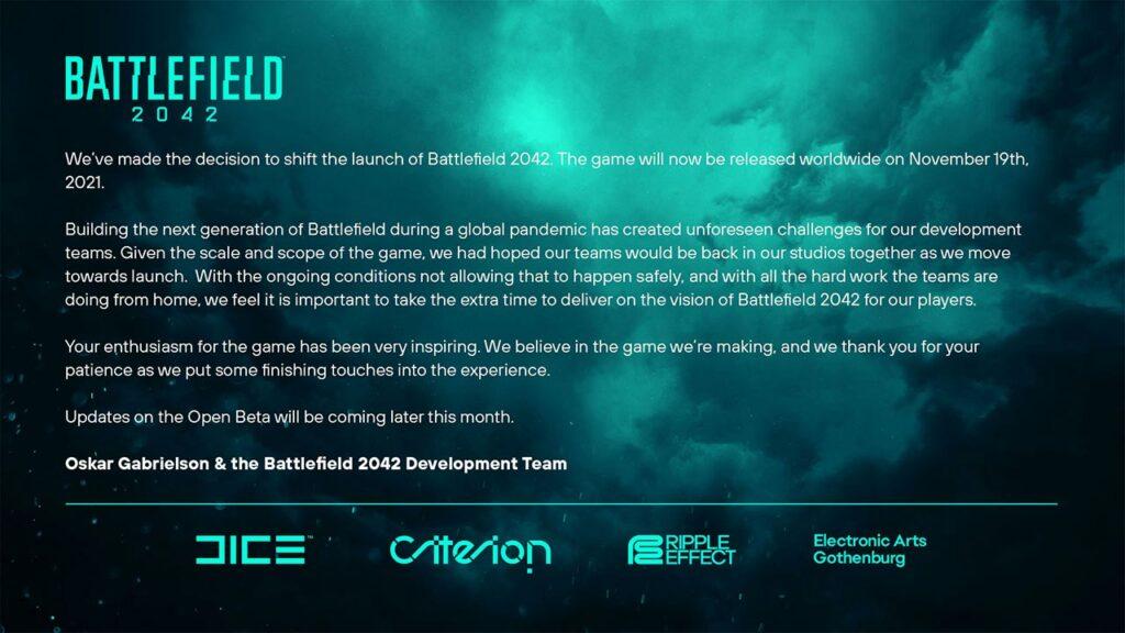 Battlefield 2042 Azioni EA al ribasso