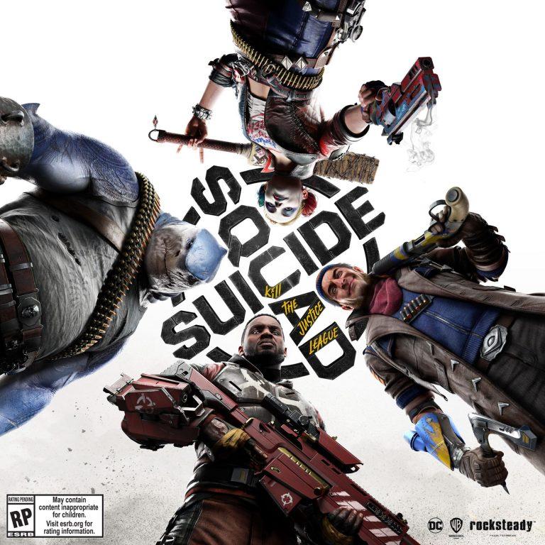 Suicide Squad key art