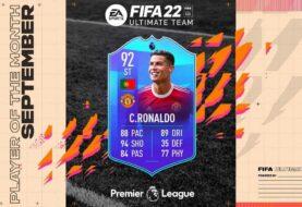 FIFA 22, Cristiano è il POTM della Premier League!